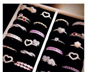 rings, ring, and pandora image