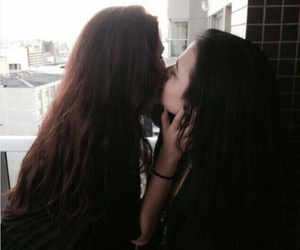 bisexual, girls, and cute image