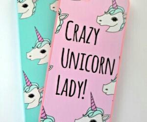 unicorn, case, and iphone image