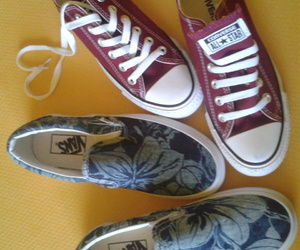fashion, vans, and shoes converse image