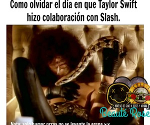axl rose, slash, and Taylor Swift image