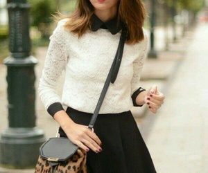 fashion, girl, and whinter image