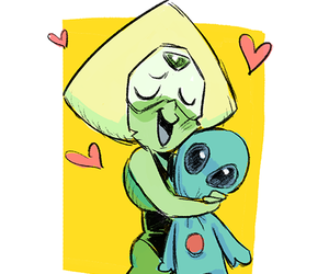 cartoon, peridot, and steven universe image