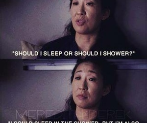 grey's anatomy, funny, and christina yang image