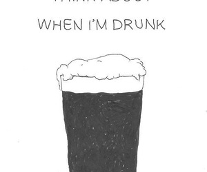 drunk, quote, and you image