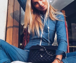 elsa hosk, pretty, and style image