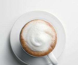 coffee, white, and cappuccino image