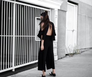 culottes, jumpsuit, and style blogger image