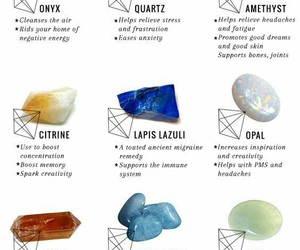 crystals, witch, and witchcraft image