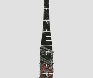 negan, twd, and LUCILLE image