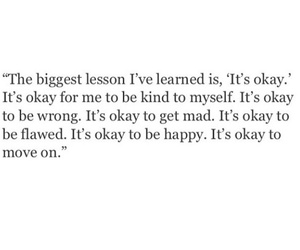 quote, happy, and okay image