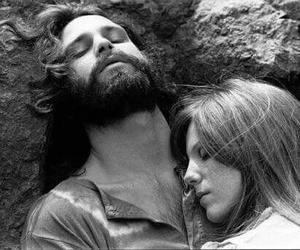love, Jim Morrison, and pamela courson image
