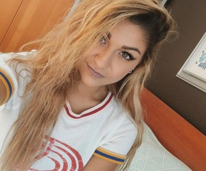 andrea russett, youtuber, and blonde image
