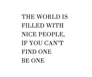 nice, quote, and world image