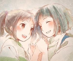 spirited away, chihiro, and anime image