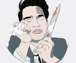 brendon urie, outline, and P!ATD image