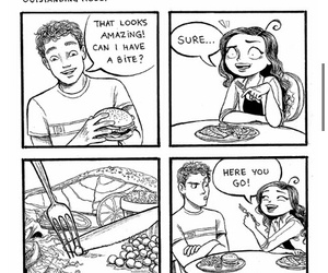 comic, drawing, and funny image
