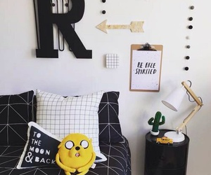 bedroom, cute, and decor image