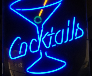 alcohol, blue, and Cocktails image