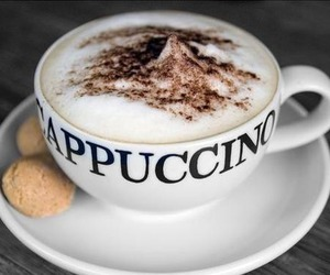 coffee, cappuccino, and drink image