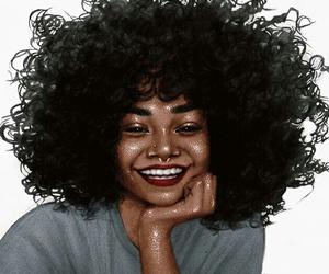 art, melanin, and beauty image