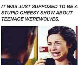 teen wolf, allison argent, and funny image