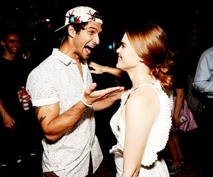tyler posey, teen wolf, and holland roden image