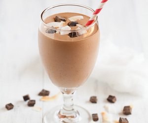 beverages, sweet, and yum image