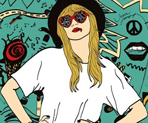 22, Taylor Swift, and pop art image
