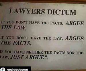 argue, funny, and lawyer image
