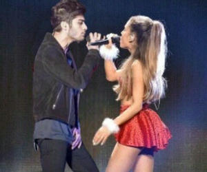 couple, duet, and ariana grande image