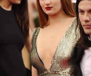 actress, sophie turner, and game of thrones image