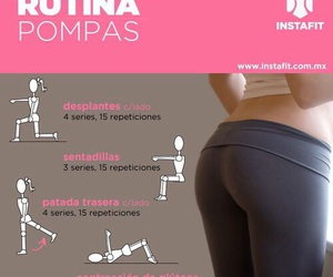 exercise, pompas, and rutina image