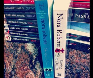 books, vintage, and nora roberts image
