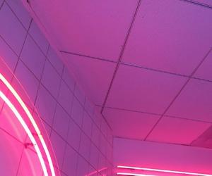 glow, pink grunge, and grunge image