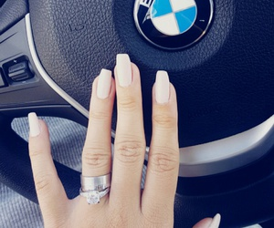 bmw, engagement, and manicure image