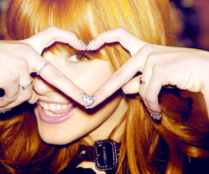bella thorne and heart image