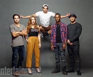 teen wolf, dylan sprayberry, and holland roden image