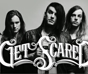 get scared, band, and rock image