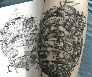 tattoo and howl's moving castle image