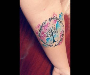lord of the rings, LOTR, and tattoo image