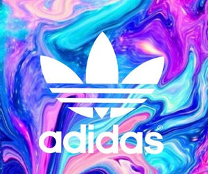 adidas, colorful, and tumblr image