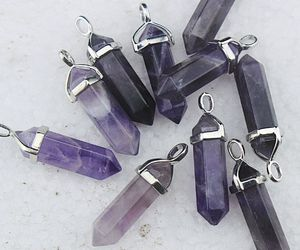 crystal necklace, crystals, and jewelry image