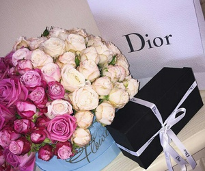 flowers and dior image