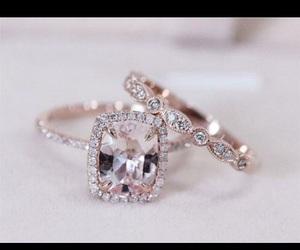 diamond ring, wedding ring, and engagement ring image