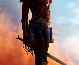 wonder woman, gal gadot, and DC image