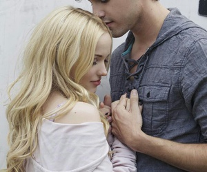 dove cameron, ryan mccartan, and couple image