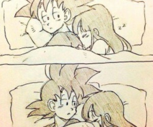 goku and couple image