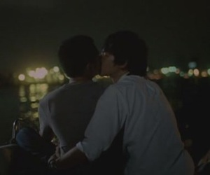 couple, gay, and gay kiss image