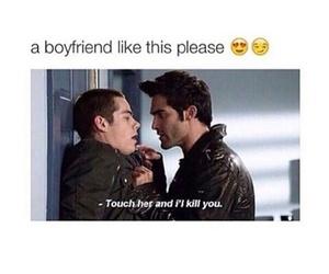 boyfriend, teen wolf, and stiles image